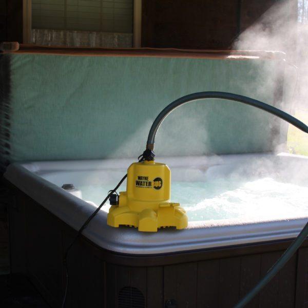 Wayne WaterBug with hot tub