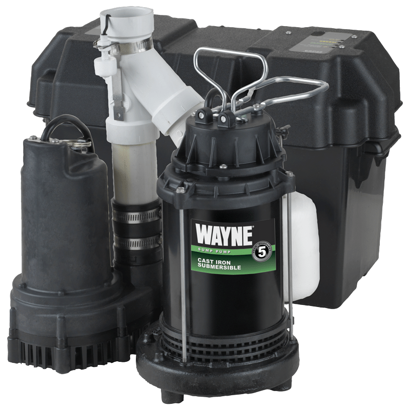 WAYNE Battery Back-Up Sump Pump